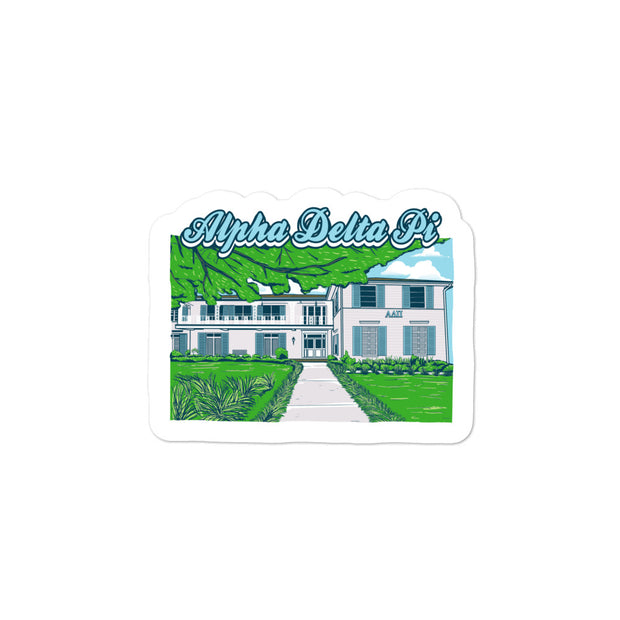 University of Florida - Alpha Delta Pi - Chapter House Sticker