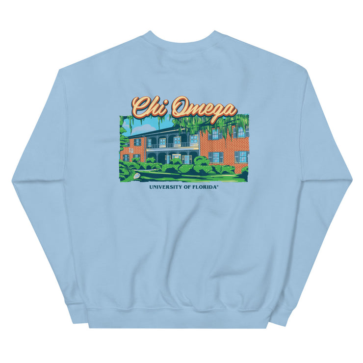University of Florida - Chi Omega - Chapter House Sweatshirt