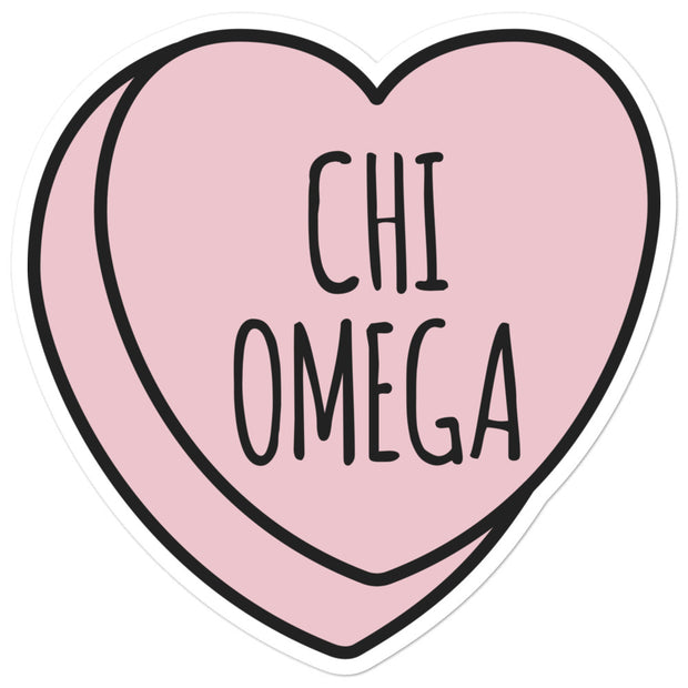 Chi Omega Sweetheart - Sticker