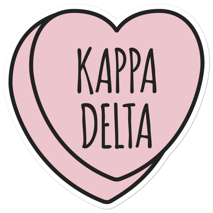 Kappa Delta Sweetheart - Sticker