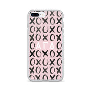 Alpha Gamma Delta Phone Case - XOXO