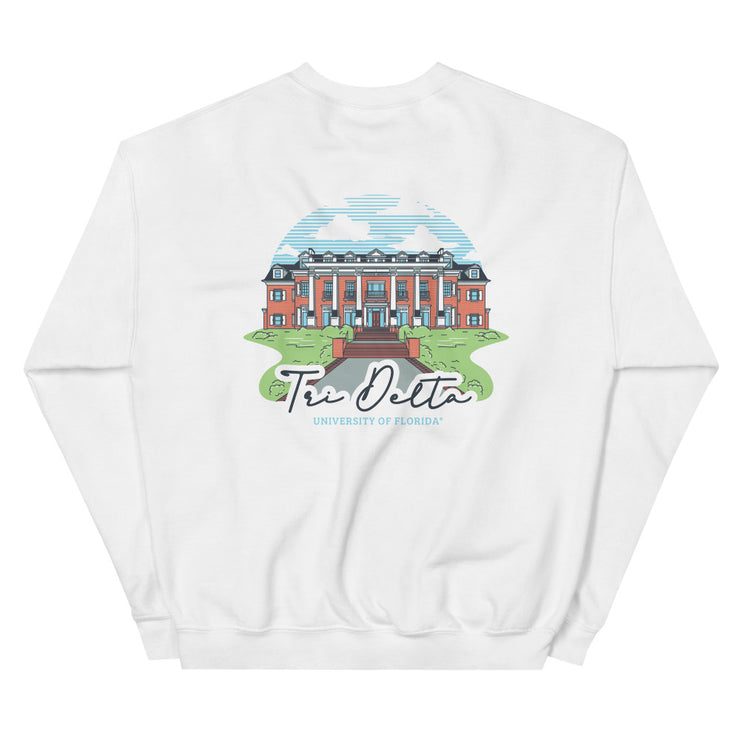 University of Florida - Delta Delta Delta - Chapter House Sweatshirt