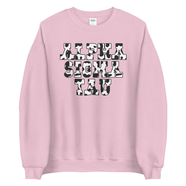 Cow Girl Crewneck