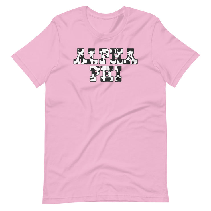 Cow Girly Tee