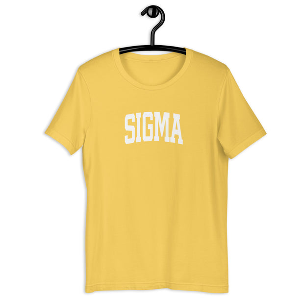 Collegiate Yellow Tee