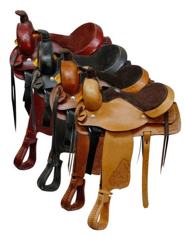 #018: Roping Style saddle made by Buffalo Saddlery