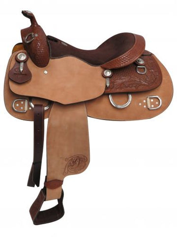 "#02816: 16"" Double T Training Saddle"
