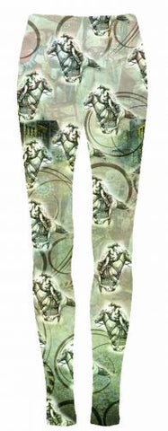 "#1064LEG: ""Wild West Cowgirl"" leggings"