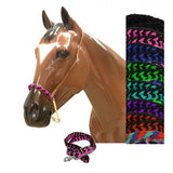 #13203: Showman® Braided nylon rope noseband and nylon tie down