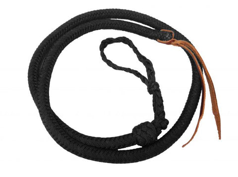 Black Showman ® 4.5 ft Braided nylon Over & Under whip