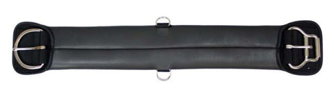 "28"" Showman™ neoprene girth with double roller buckle which allows you to tighten your girth quick and easy"