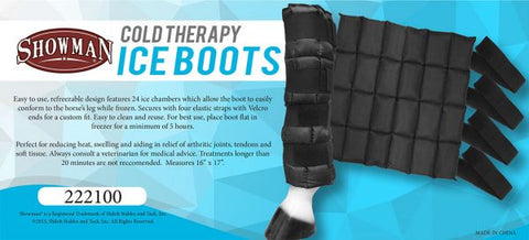 #222100: Showman ® Cold Therapy Ice Boots