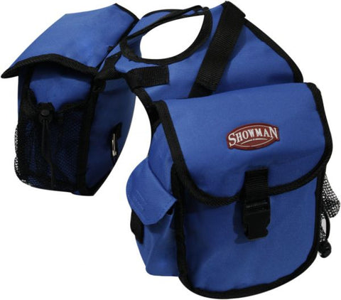 Royal Blue Showman™ nylon cordura insulated horn bag with buckle closure