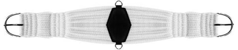 32 inch Showman roper style string girth comes with diamond in center