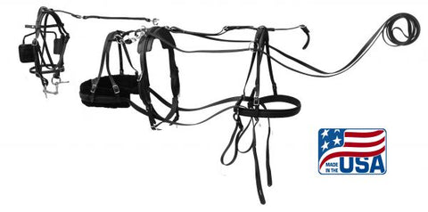 #3132: Mini Horse  Premium Quality synthetic driving harness