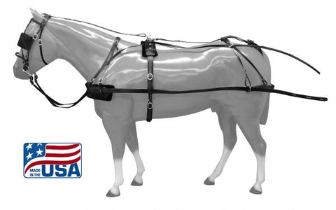 Cobb/Small Horse Premium Quality synthetic driving harness