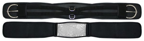 "28"" Showman™ non-slip waffle neoprene girth with gel center"