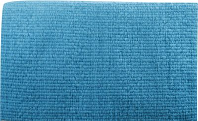 "Turquoise Showman® 36"" x 34"" 100% New Zealand wool reversible show blanket"
