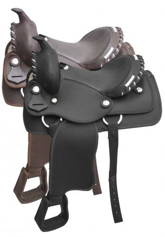#603912: **additional holes can be added to stirrup leathers**
