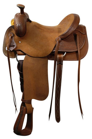 "#62516: 16"" Showman™  roper saddle"