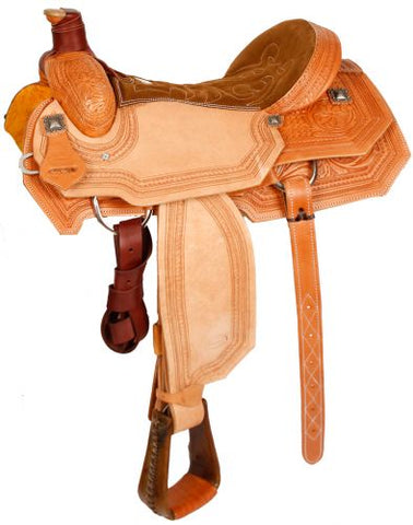 "#62816: 16"" Showman™ Roping Saddle"