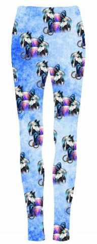 "#6461LEG: ""Dreamcatcher Horses"" leggings"