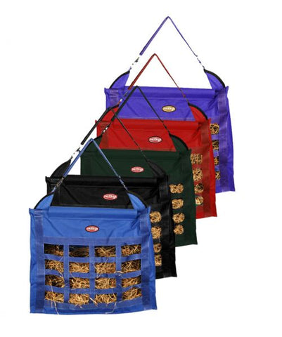 #66-6728-16: Showman ® Slow feed hay bag with 16 feeder holes