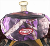 Showman ® Real Oak Insulated Nylon Saddle Pouch