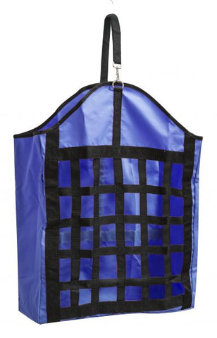Royal Blue Showman ® Webbed nylon slow feed hay bag