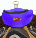 #68-7626: Showman ® Insulated Nylon Saddle Pouch