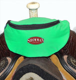 Showman ® Insulated Nylon Saddle Pouch