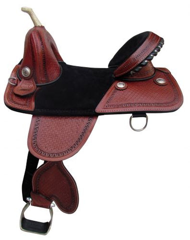 "#683716: 16"" Double T Treeless Saddle"