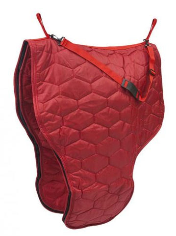 Red Diamond quilted heavy nylon saddle carrier