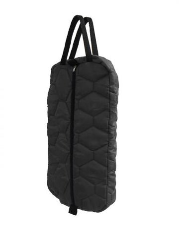 #72241: Showman® Quilted nylon bridle bag with zipper front