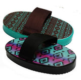 Teal & Pink Navajo Molded plastic Navajo print curry