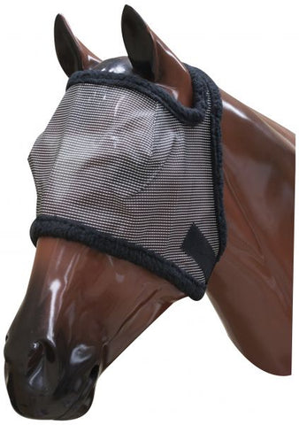 Large Showman fleece lined fly mask with citronella scent