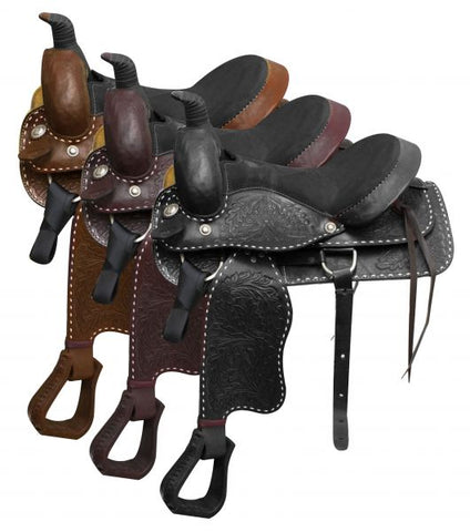 #90016: Please note this saddle is not warrantied for roping