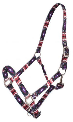 #NH-02: Showman® Premium Nylon Horse Sized Halter