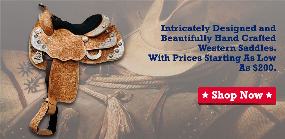 Saddle Sale, premium quality, economical prices.
