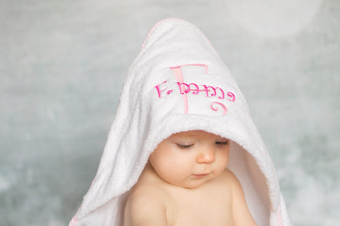 Personalized infant hooded towel and mitt set newborn gift baby personalized infant hooded towel and mitt set newborn gift baby bath towel personalized negle Choice Image