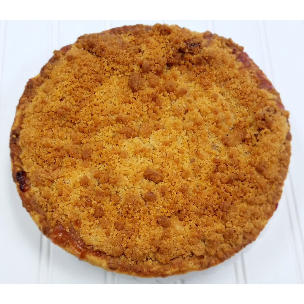 Apple Rhubarb Crumb