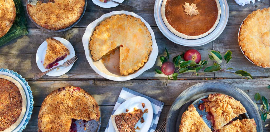 Baked fresh daily · Buy a pie ...