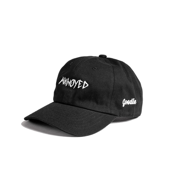 ANNOYED CAP (BLACK)