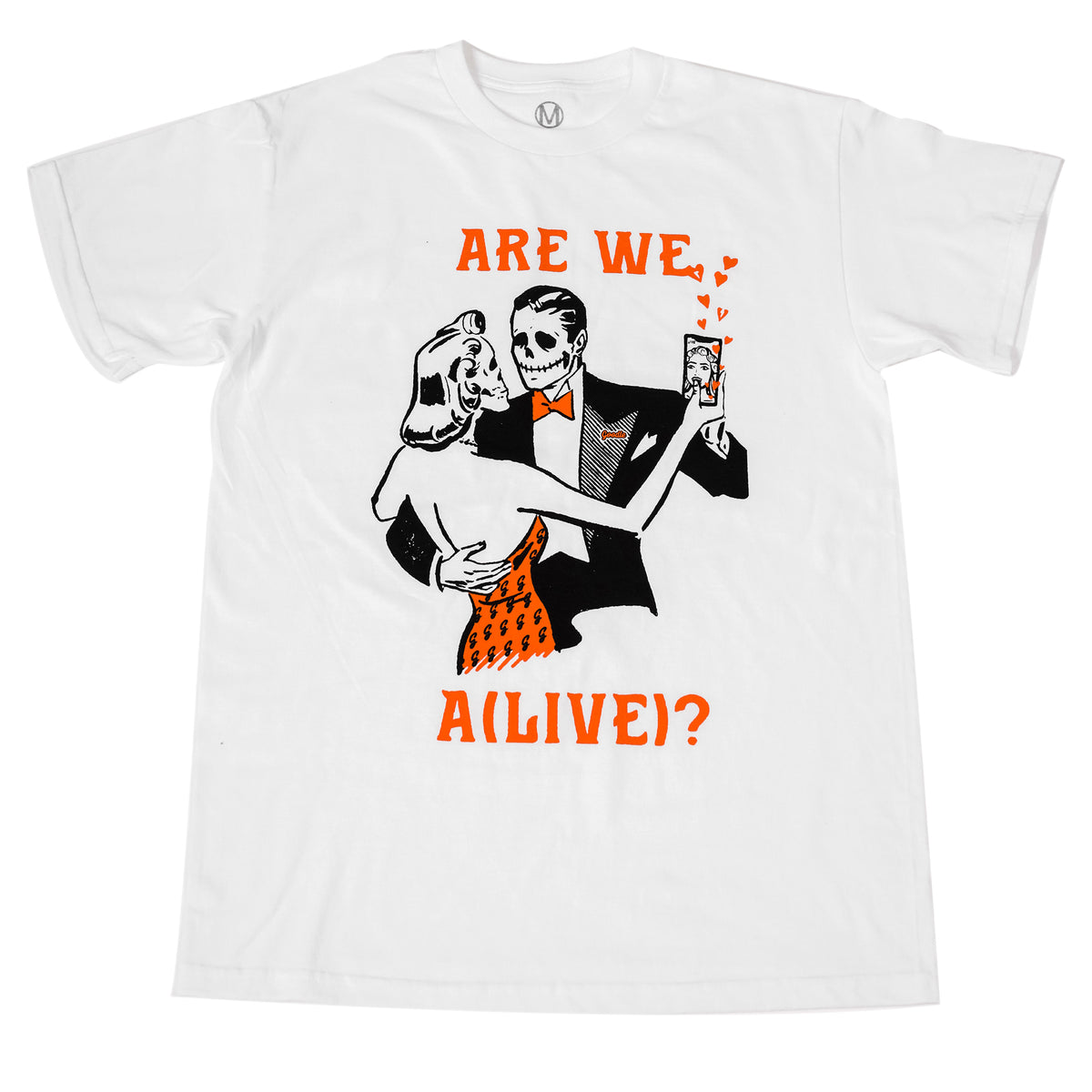 ARE WE ALIVE TEE