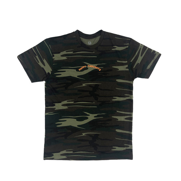 HAPPY THOUGHTS TEE (CAMO)