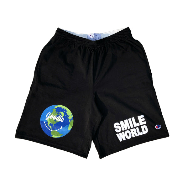 SMILE WORLD x CHAMPION GYM SHORTS