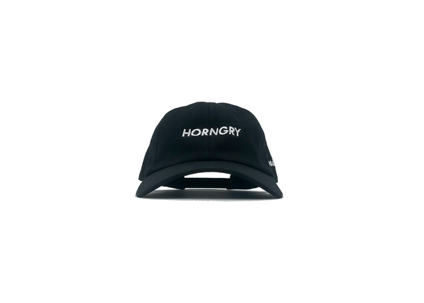 HORNGRY BLACK DAD CAP