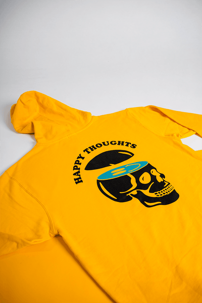 HAPPY THOUGHTS 2.0 HOODIE (GOLD)