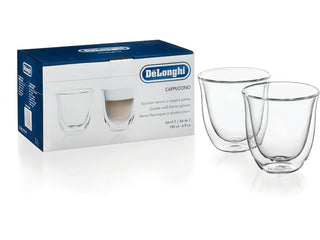 Delonghi Cappuccino Glasses Set of 2