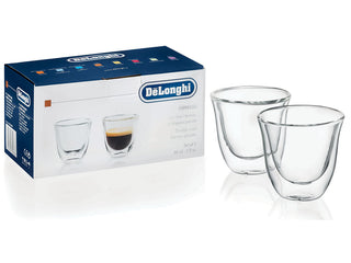 Delonghi Espresso Glasses Set of 2
